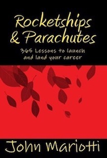 Rocketships & Parachutes - 365 Lessons to launch and land your career