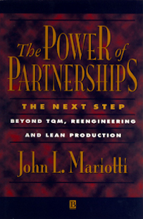 The Power Of Partnerships by John Mariotti